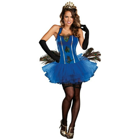 Royal Peacock Women Costume - Womens Peacock Costume