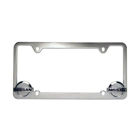 official nissan license plate frame