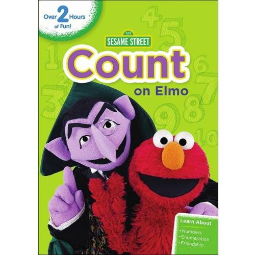 Sesame Street: Count On Elmo (Includes Bonus Pop-Up Book) (Walmart Exclusive) (Full Frame, WALMART EXCLUSIVE)](Count Dracula Elmo)