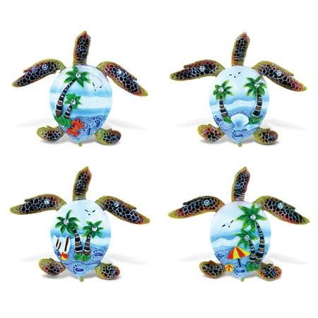 Blue Sand Magnets Sea Turtle