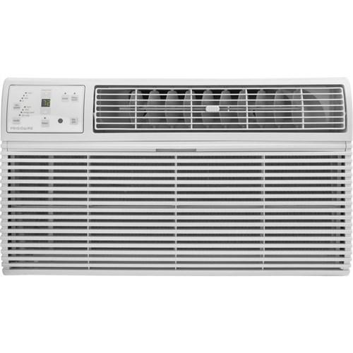 FFTH1222R2 24 Built-In Room Air Conditioner with 14 000 BTU's Cooling Capacity/10 600 BTU's Heating Capacity  Supplemental Heat  Ready Select Controls  and Effortless Temperature Control: Wh