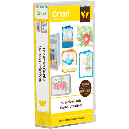Cricut Project Creative Cards Cartridge