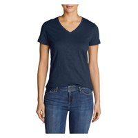 Eddie Bauer Women's Legend Wash Slub Short-Sleeve V-Neck T-Shirt