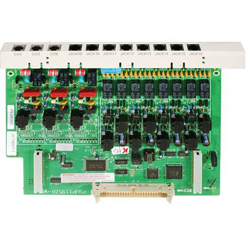 Refurbished Panasonic KX-TA62477-R 3 Line 8 Station Expansion Card