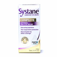 SYSTANE COMPLETE Lubricant Eye Drops for Dry Eye Symptom Relief, 10ML