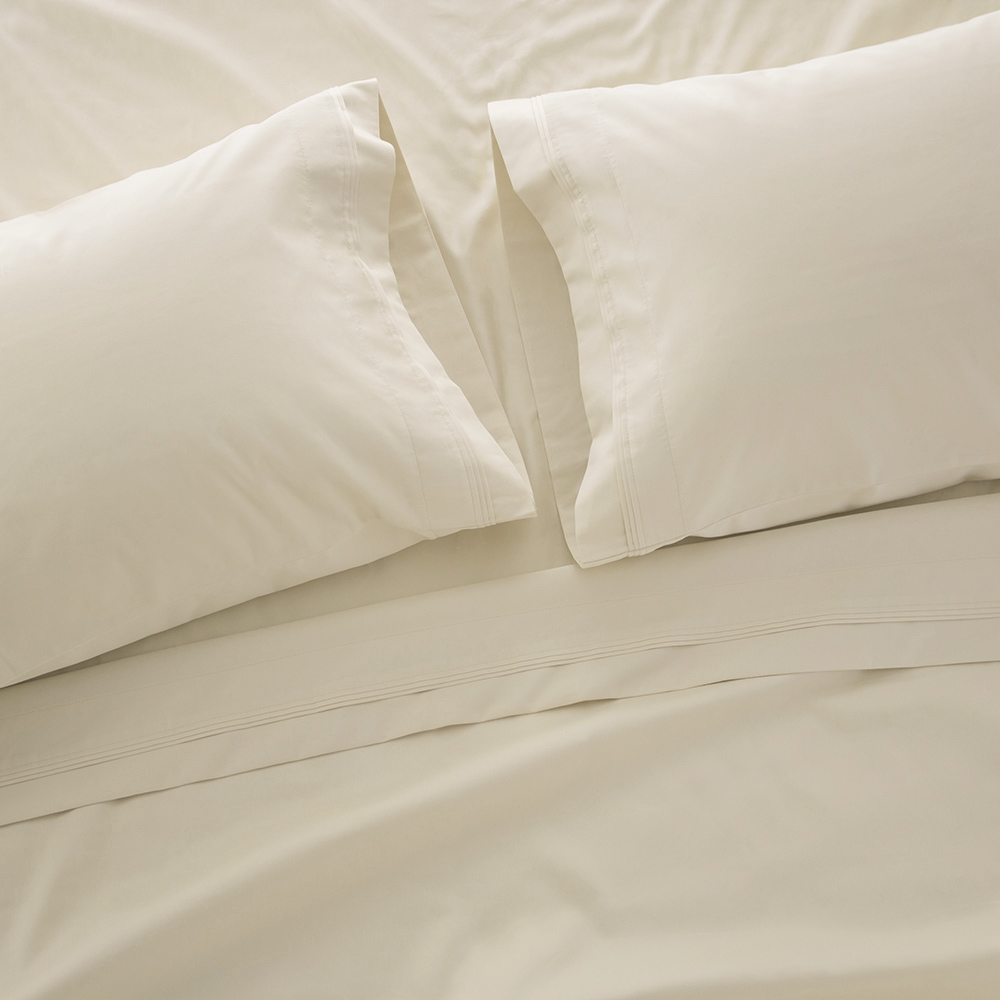 1000 Thread Count Bed Sheet Sets - Luxurious 100% Egyptian Cotton Deep Pocket Sheets - Bedding Set Includes One Flat Sheet, One Fitted Sheet & Two Pillowcases