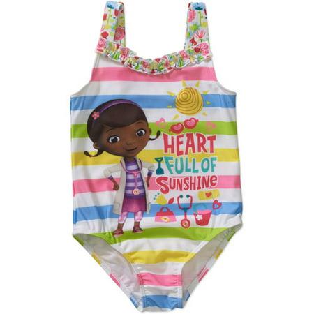 e024e432a6af6 Doc McStuffins - Doc Mcstuffins Ap Toddler License Swimwear - Walmart.com