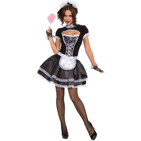 Womens Suzette French Maid Halloween Costume (Dead French Maid Halloween Costume)