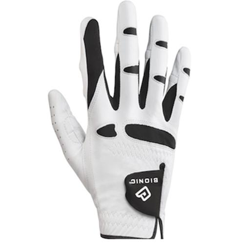 Men's StableGrip with NaturalFit Golf Glove Right White Large