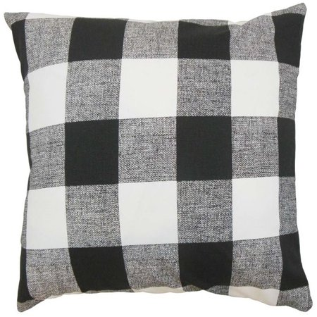 the pillow collection 18 square alfonso plaid throw pillow - The Pillow Collection