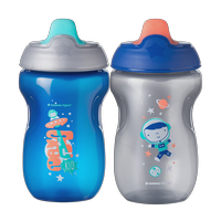 TommeeTippeeToddlerSippeeCup, 9+ months  2pk (Colors & Designs Vary)