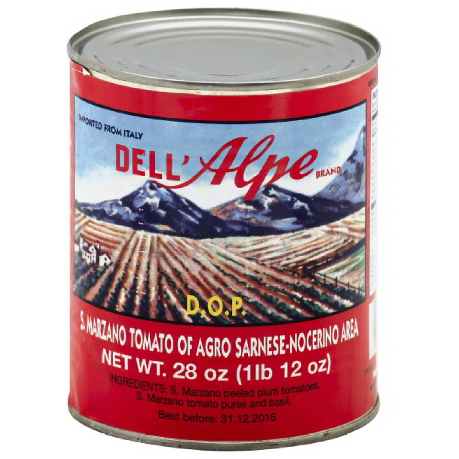 Dell' Alpe S.Marzano Tomatoes, 28 oz, (Pack of 12)