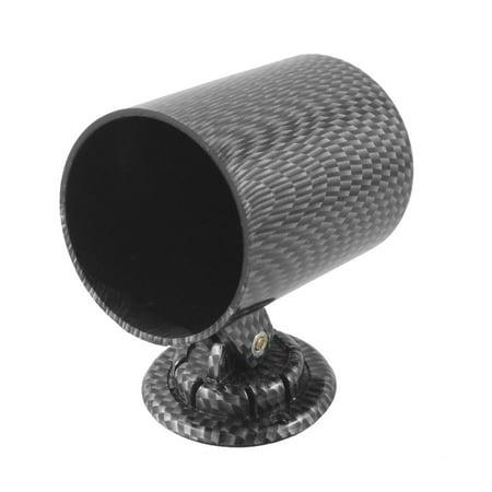 Gauge Mounting Panel (Unique Bargains Unique Bargains Car 55mm One Hole Panel Mounted Tachometer Gauge Holder Black)
