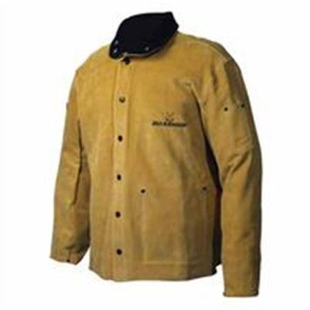 caiman 3030-5 large 30-inch gold boarhide welding coat ()