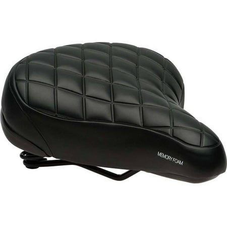 Bell Sports RECLINE 850 Memory Foam Cruiser Bike Seat / Saddle, Black