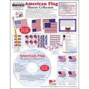 ScrapSMART American Flag: History Collection Clip-Art CD-ROM
