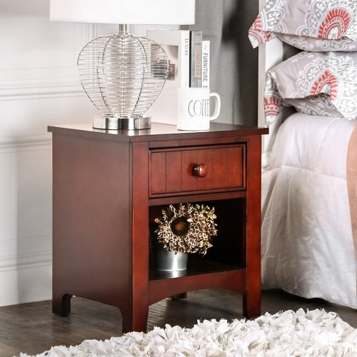 Hokku Designs Miles 1 Drawer Nightstand by Urbal Furnishings