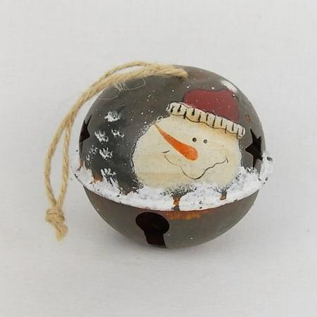 Craft Outlet Snowman Bell (Set of 4)