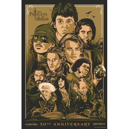 The Princess Bride 30th Anniversary Poster - 12x18 - 30th Anniversary Ideas