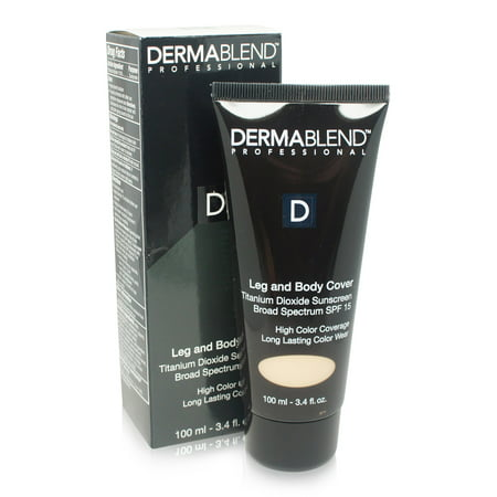Dermablend Leg and Body Cover Make-Up SPF 25 Light Sand 25W 3.4 Oz