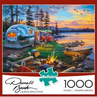 Buffalo Games - Darrell Bush - Camping Reflections - 1000 Piece Jigsaw Puzzle