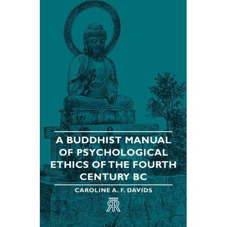 Rottefella Nnn Bc Manual - A Buddhist Manual of Psychological Ethics of the Fourth Century BC