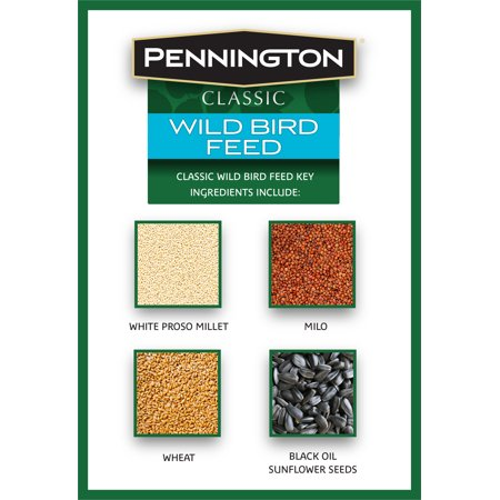 Pennington Classic Wild Bird Feed and Seed, 40 lb. Bag