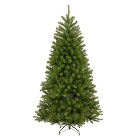 National Tree 7.5 Foot Artificial North Valley Spruce Hinged Christmas Tree