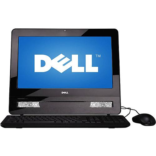 """Dell Inspiron One 10 All-in-One Desktop with 18.5"""" Display, Intel Pentium Dual Core E5500 Processor, Windows 7 Home Premium (iO10-0000BGA)"""