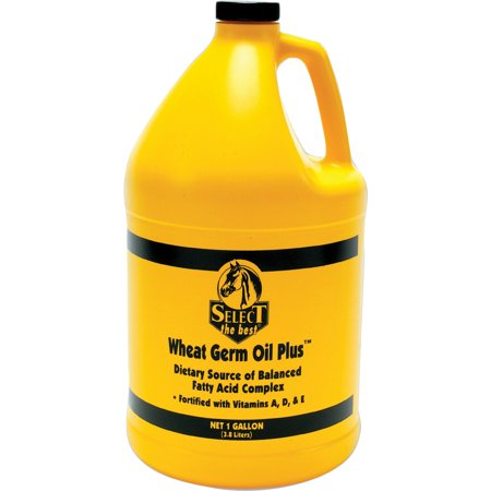 Richdel Inc D-Wheat Germ Oil Plus Hoof & Coat Support For Horses 1 Gallon
