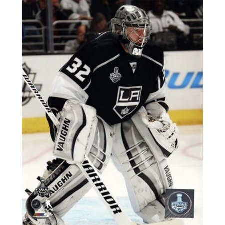 Jonathan Quick Game 2 of the 2014 Stanley Cup Finals Action Sports Photo