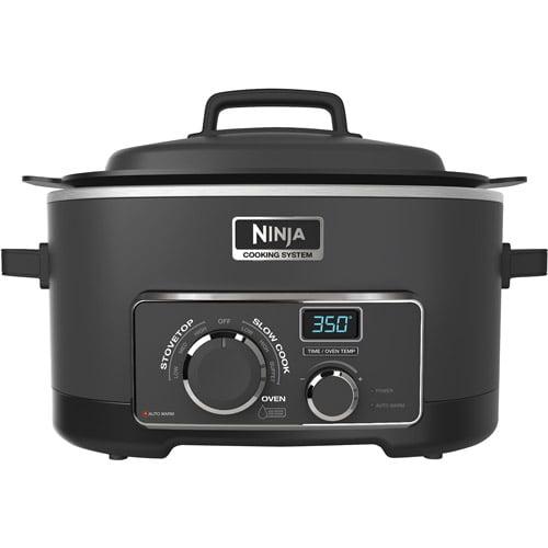 Ninja MC702 Multi Cooker 3-in-1 Cooking System Digital 6 Quart (Refurbished)