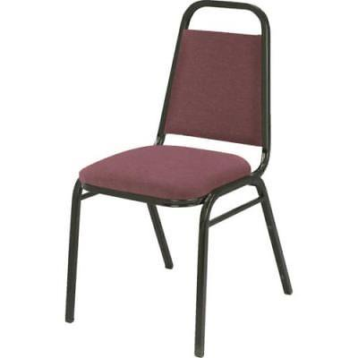 Stack Chair, Burgundy Fabric, 1 5