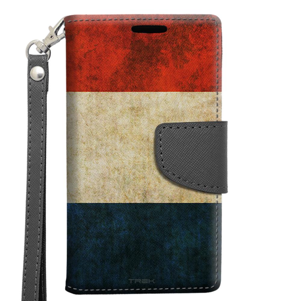 Alcatel OneTouch Pop Astro Wallet Case Vintage Dutch Flag by Trek Media Group