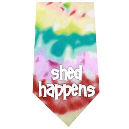 Shed Happens Screen Print Bandana Tie Dye