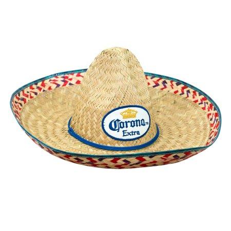 Corona Extra Straw Sombrero (Sombrero Straw Hat)