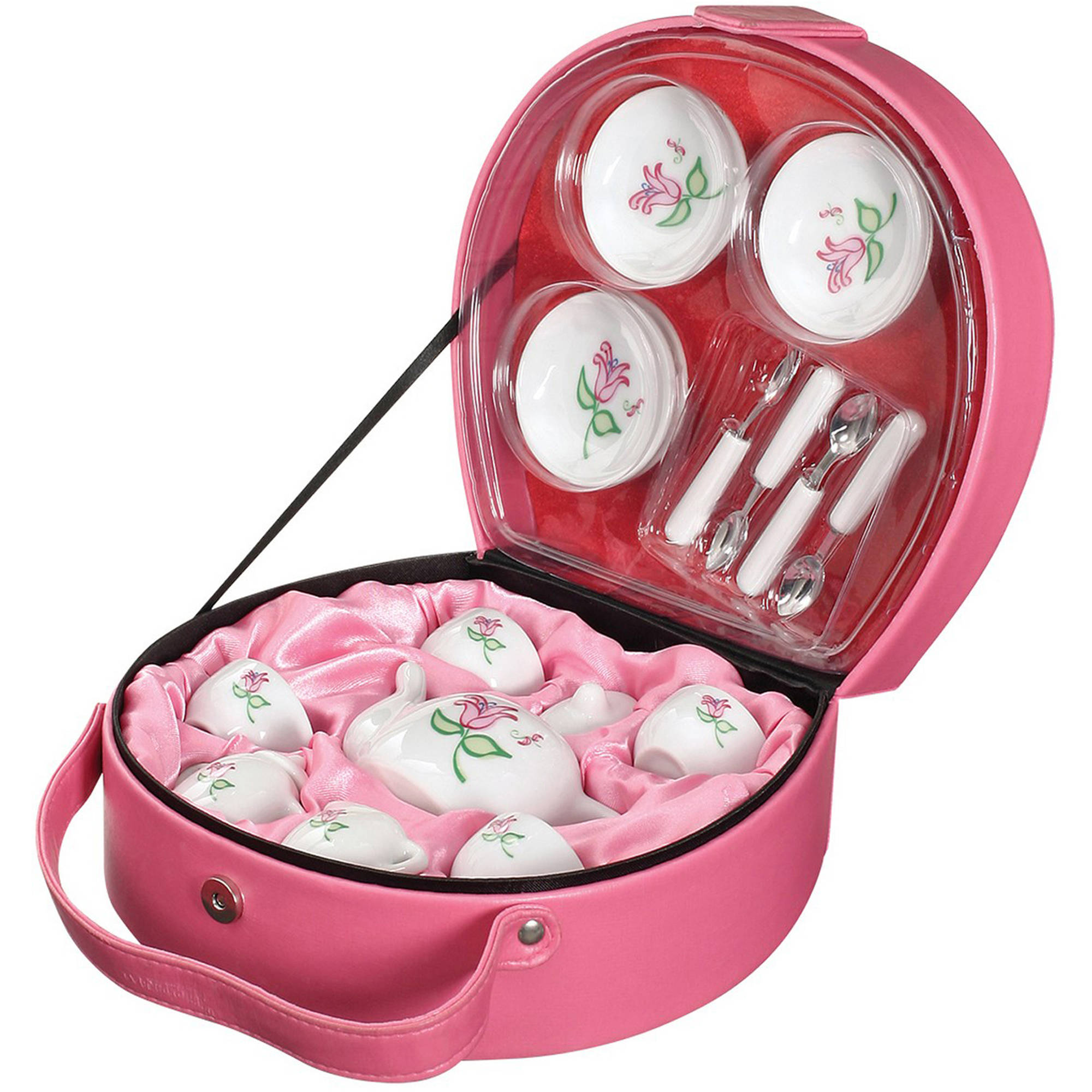 Toysmith 17-Piece Li'l Tea Tote Set