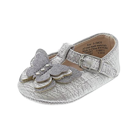 Shadow Billet - The Children'S Place T-Strap Ballet Flat Grape Shadow Ankle-High - 2M