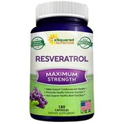 Best Antioxidant Supplements - aSquared Nutrition 100% Pure Resveratrol - 1000mg Per Review