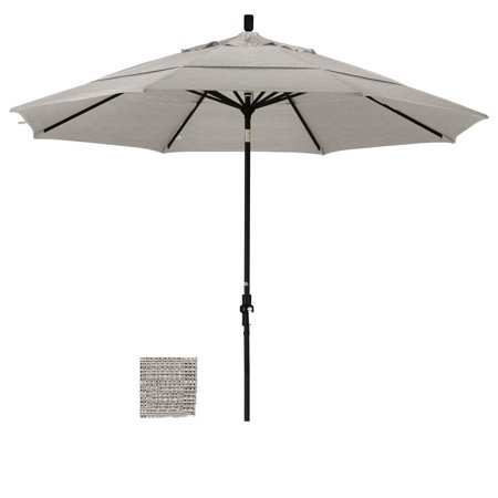 Eclipse Collection 11 Fiberglass Market Umbrella Collar Tilt DV Sand/Olefin/Woven
