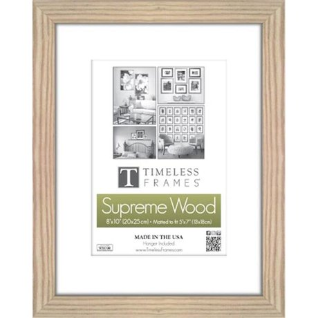 timeless frames 73237 regal portrait natural wall frame 12 x 16 in. Black Bedroom Furniture Sets. Home Design Ideas