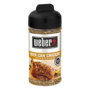 Weber Beer Can Chicken Seasoning, 5.5 OZ