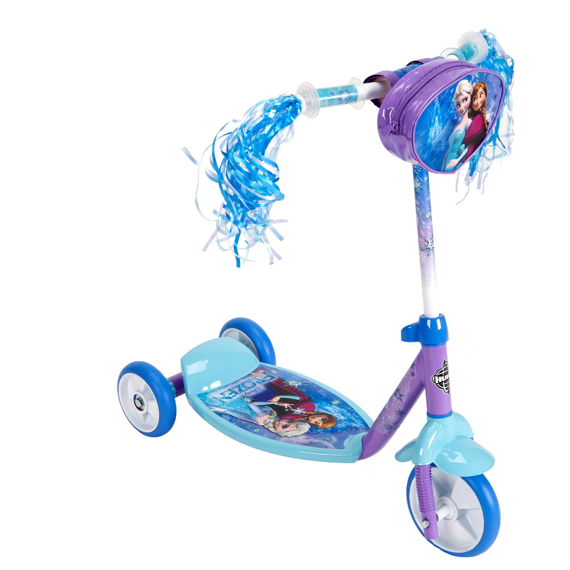 Huffy Disney Frozen Preschool 3 Wheel Kick Scooter On Popscreen