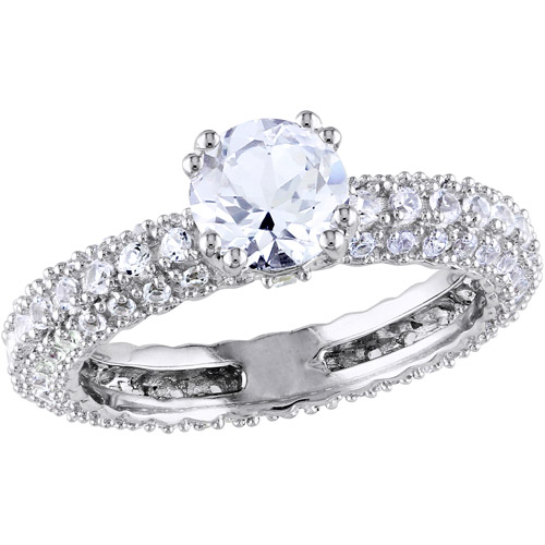 miabella 2 3 4 carat t g w created white sapphire