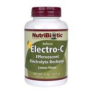 Lemon Electro-C Powder Nutribiotic 8 oz Powder