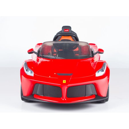 Exclusive Official 12V LaFerrari Kids Ride On Car with MP3, Lights, Doors and Remote Control - image 7 de 12