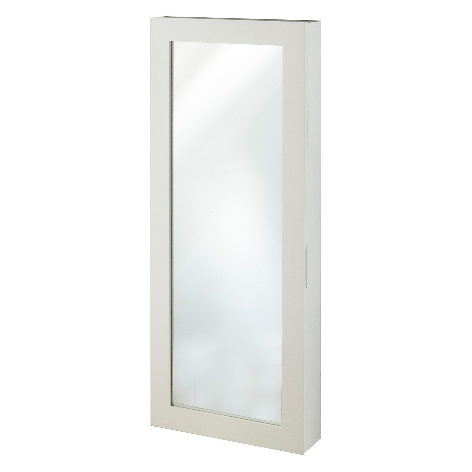 InnerSpace Space Saver Jewelry Armoire with Mirror