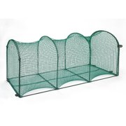 "Kittywalk Deck and Patio Outdoor Cat Enclosure, Green, 72"" x 18"" x 24"""