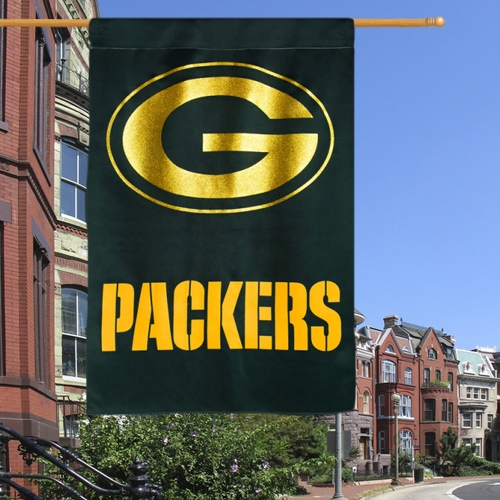 Team Sports America NFL Double Sided Glitter House Flag