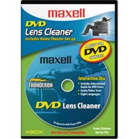 Maxell, MAX190059, DVD-LC DVD Lens Cleaner, 1 Each